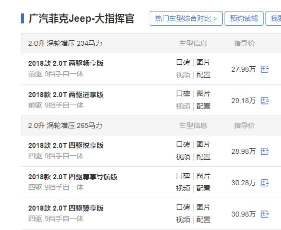jeep大指挥官视频 动力超强空间大只是价格有点贵